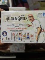 2020 Topps Allen and Ginter Baseball Factory Sealed Blaster Box