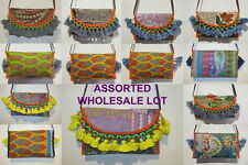 Bag Clutch Embroidery Wholesale Lot Indian Vintage Banjara Bags Ladies Handbags