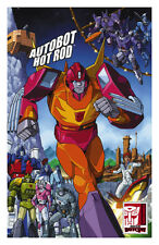 Hot Rod Art Print by Casey Coller; Transformers 2016 BotCon Exclusive Not Signed