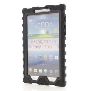 NEW  Hard Candy ShockDrop Samsung Galaxy Tab 3 7 inch (2013) Black Case