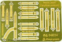 1:48 MicroDesign #MD048234 Seatbelts Japan Navy aircrafts WWII, Photo-etched set
