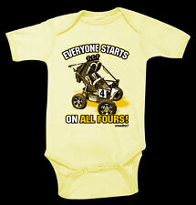"NWT Smooth Industries ""On All Fours"" ATV Quad Infant Romper, 12-18 month"