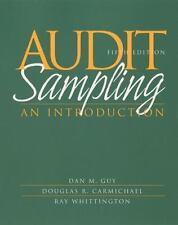 Audit Sampling: An Introduction to Statistical Sampling in Auditing, Guy, Dan M.