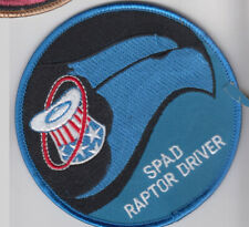 PATCH  USAF F-22 94tH  FIGHTER SQ SPAD RAPTOR DRIVER  PARCHE