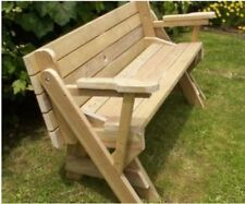 Folding Bench Plans Emailed PDF to PayPal email address