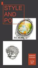 Collectible Disney Couture WINNIE the POOH Christopher Robin Gems Ring Size 8