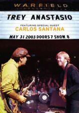 TREY ANASTASIO Live At The Warfield With Special Guest CARLOS SANTANA DVD Phish