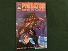 PREDATOR COLD WAR 1 2 4 DARK HORSE COMIC - VERHEIDEN RANDALL 1991 NM
