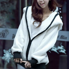 Women Cute Winter Warm Coat Panda Hooded Jacket Outwear Plush Parka Overcoat