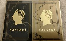 Caesars Palace Playing Cards - 2 Deck Pack - Brand New Sealed