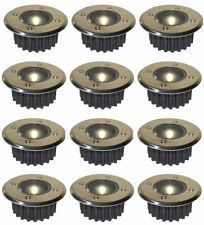 6 PACK WARM WHITE LED SOLAR POWERED GARDEN DECKING DECK LIGHTS PATIO DRIVEWAY