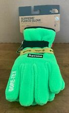 Supreme The North Face Rtg Fleece Glove Bright Green Size Large In Hand