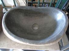 évier, vasque en pierre galet rivière , lavabos , nouveau !!!