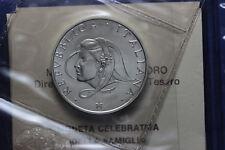 *161* REPUBBLICA ITALIANA - 500 Lire Ag FAMIGLIA 1987 FDC