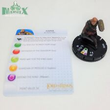 Heroclix LotR: The Two Towers set Hama #018 Uncommon figure w/card!
