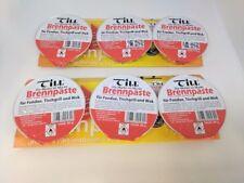 2 Pack Fondue Gel / Paste Chafing Dish Burner Fuel 6 x 80g Pots Till Brennpaste.
