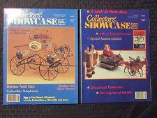 1990/91 COLLECTORS SHOWCASE Magazine v.1 #7 v.2 #1 2 7 FVF Pedal Cars LOT of 4