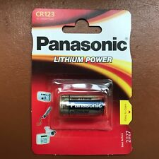 New Panasonic CR123A 3 V Lithium Photo Batterie 123 CR123 DL123 CR17345 Caméra