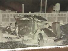 VTG Film Negatives Frank J Knight Contractors Truck Wreck 1940s Lot of 7 #9014