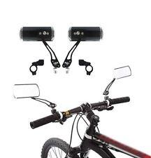 Schwarz Lenker Motorrad Fahrrad Seite Rückspiegel Rückspiegel PipAB