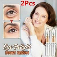 Eye Delight Boost Serum Anti-Ageing Wrinkle Remover Eyebags Dark Circle Serum*2