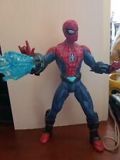 Marvel Ultimate Spiderman Talking Electro Web  25cm  Action Figure - FAST POST