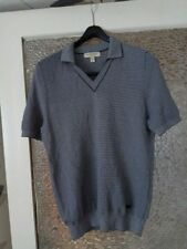 BURBERRY LONDON STRIPED SHORT SLEEVE SHIRT JUMPER  SIZE: M