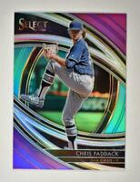 2020 Select Premier Tri-Color #163 Chris Paddack - San Diego Padres