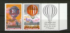 PAIRE TIMBRES P2262A NEUF XX LUXE  - MONTGOLFIERES - TTTB