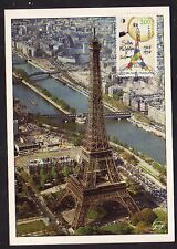 3000+ FDC CARTE 1er JOUR SALON PHILATELIQUE TOUR EIFFEL