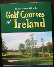 GOLF BOOK, THE BANK OF IRELAND GUIDE TO THE GOLF COURSES OF IRELAND, MULQUEEN