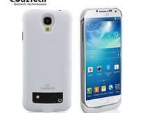 New Naztech Power Case For Samsung Galaxy s4 White NP3000S4 Extend Battery Life