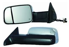 2012 Dodge Ram 1500 2500 3500 Driver Side Chrome Heat Power Mirror W/Signal