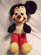 "Vintage Mickey Mouse Disney California Stuffed Toy Plush Soft Stuffed Animal 15"""