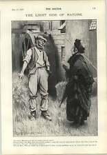 1897 The Millers Tale Gunning King Cartoon Selfish Papa