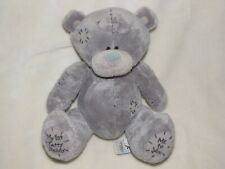 MY 1ST FIRST TATTY TEDDY ME TO YOU STUFFED PLUSH BEANS GRAY BEAR CARTE BLANCHE 7