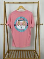 Simply Southern Women's Always Stay Humble & Kind Pink Short Sleeve T-Shirt Sz L