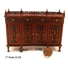 Miniature Quality Buffet Table Dollhouse  Roombox 1:12 Dinning room