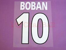 Boban #10 2000-2001 AC Milan Homekit Nameset Printing