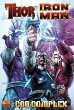 Thor/Iron Man: God Complex by Dan Abnett (2011, Marvel Hardcover) New & Sealed!