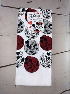 DISNEY Mickey & Minnie Valentines Kitchen Towels 2 pack