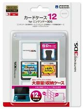 Nintendo official licensed products Card Case 12 for Nintendo 3Ds White Japan