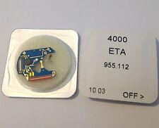 CIRCUITO BLU ETA 955.112 SWISS MADE (REF. 4000) NEW OLD STOCK