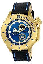 Invicta Men's 22010 Russian Diver Quartz Multifunction Blue Dial Watch 3YRS Warr