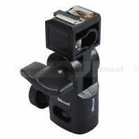 Hot Shoe Mount Flash Bracket/Umbrella Holder for Canon Nikon Pentax Olympus Metz