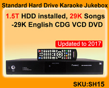 Standard Vietnamese Karaoke Jukebox,2TB, 29K English CDG,VCD, DVD songs