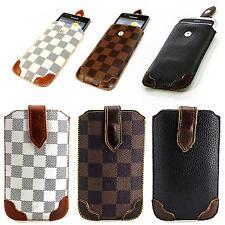 Luxus Design Handy Tasche Schutz Hülle Flip Etui Slim Case Style Cover Schale