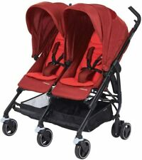 Maxi Cosi Dana For2 (pushchair for twins) vivid RED - double stroller