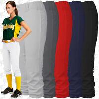 Intensity Homerun Womens Fastpitch Softball Pants White Black Grey Navy XS to 3X