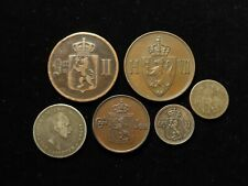 Norway Collection of 6x Coins 19thC-early 20thC